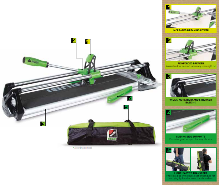 Maxima Tile Cutter 19982 by Rubi