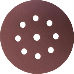 Sia Siaspeed Hook Loop 5 Inch 9 Hole Discs Coarse Grits 40 - 60