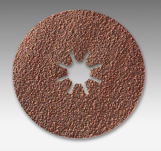 4919 ral 4 1 2 Inch AO Fiber Resin Discs Grits 24 - 120 by Sia