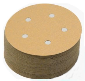 speed PSA Tab Discs 5 Inch 5 Hole Coarse Grits 40 and 60 by Sia
