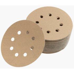 1960 rexx Cut  H n L Sanding Discs 5 Inch 8 Hole Grits 60 - 400 by Sia