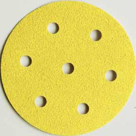 1949 drive Hook Loop Discs 6 Inch 7 Hole Grits 150 - 500 by Sia
