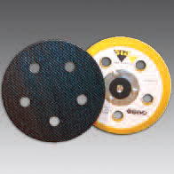 Hook and Loop Backup Pad 5 Inch 5 Hole by Sia