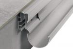 Schluter BARA-RTP Balcony Gutter System Edging Profiles