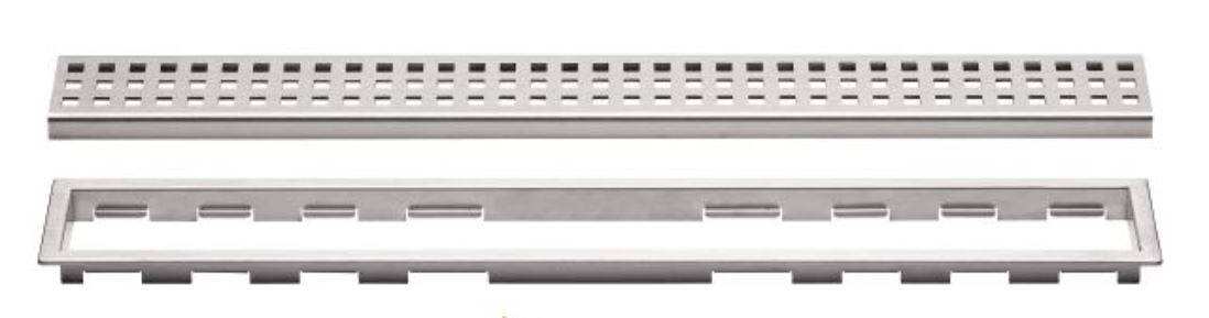 KERDI LINE Grate Assembly ONLY - Type B Perforated Grate by Schluter Systems