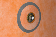 Kerdi 4-1 2 Inch Mixing Valve Seal by Schluter Systems