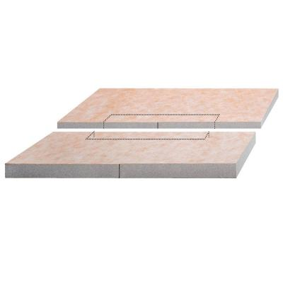 KERDI-SHOWER-L -LS Sloped Tray For KERDI-LINE by Schluter Systems