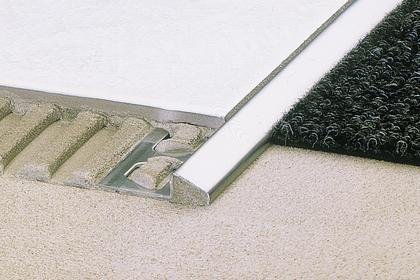 RENO-U Tile Edge Protection   Floor Transition Profiles by Schluter Systems