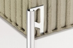 Schluter RONDEC Finishing   Edge Protection Profiles - Aluminum