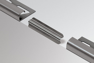 Connector for Schluter RONDEC - Stainless Steel by Schluter Systems