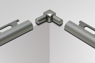Double-leg Inside Corner for Schluter RONDEC - Anodized Aluminum by Schluter Systems