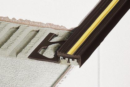 TREP-T Anti-Slip PVC Stair-Nosing Profiles by Schluter Systems
