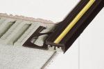 Schluter TREP-T Anti-Slip PVC Stair-Nosing Profiles