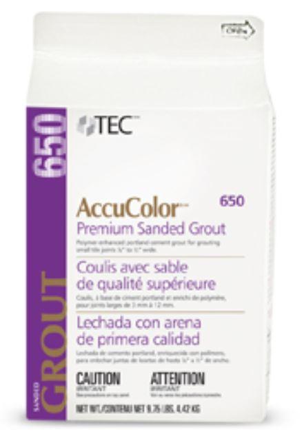 AccuColor Premium Sanded Grout 9 75lb PurePak by Tec