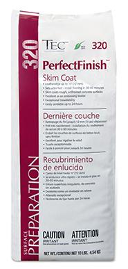 Tec 320 Perfectfinish Skim Coat Patch 10 Lb Bag