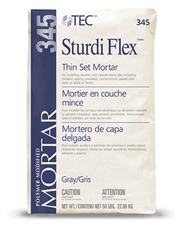 Sturdi Flex Latex Modified Thin Set Mortar 50 Lbs by Tec
