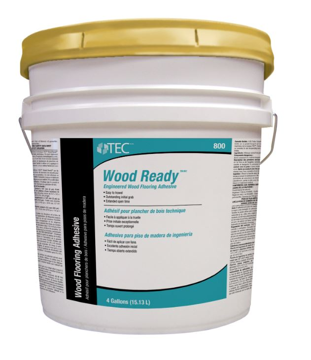 TEC TA 800 Wood Ready Engineered Wood Flooring Adhesive 4 GAL Pail by Tec