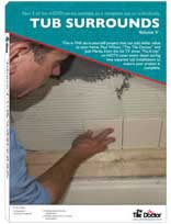 Tile Tub Surrounds Volume V DVD by The Tile Doctor
