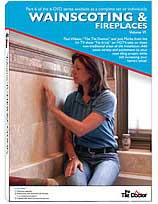 Tile Wainscoting and Fireplaces Volume VI DVD by The Tile Doctor