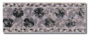 Paladio Wall Ceramic Tile 5 x 13 Listel Decorative Border by Recer