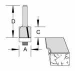 Velepec Helix Flush Trim Router Bits