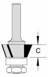 Velepec 3 Wing Bevel Trim Cutter Assembly