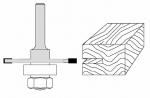Velepec 2 Wing Slotting Cutter Assembly