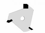 Velepec 3 Wing Slotting Cutter Assembly