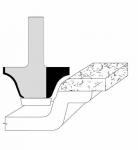 Velepec Roman Ogee Undermount Corian Bowl Bits