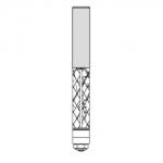 Velepec Fiberglass Polycrystalline Diamond Flush Trim Bit
