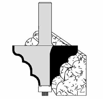 Hunter Edge Profile Bit 60-111 by Velepec