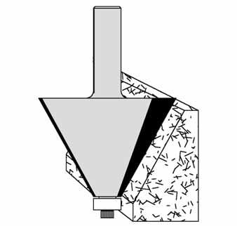 Clifton Edge Profile Bit 60-113 by Velepec
