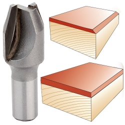 Velepec Combination Bevel and Flush Trim Router Bits
