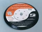 Dynabrade 50606 6 Inch Non Vacuum Long Nap Hook and Loop Disc Pad