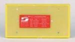 Dynabrade 57850 3 2 3 x 7 Inch Non Vacuum Dynabug PSA Abrasive Pad