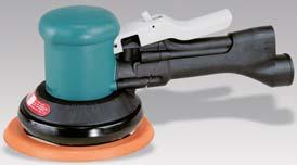6 Inch Two-Hand Dynorbital Vacuum Random Orbital Sanders by Dynabrade