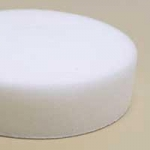 Dynabrade 90038 3 Inch Flat White Foam Polishing Pad