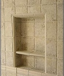 Recess-It Shower Recess Shelf REC 614 6 x 13 Inch